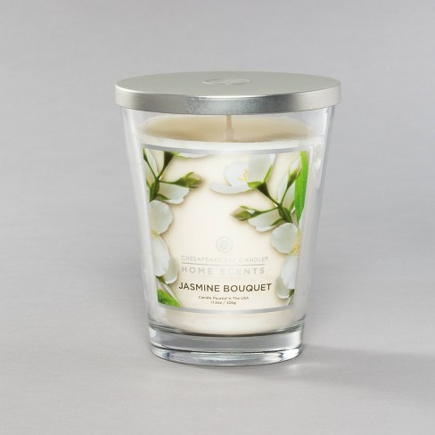 Jar Candle Jasmine Bouquet Home Scents by Chesapeake Bay Candles - image 1 of 3