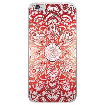 OTM Essentials Apple iPhone 8/7/6s/6  Clear Phone Case, Mandala Heart