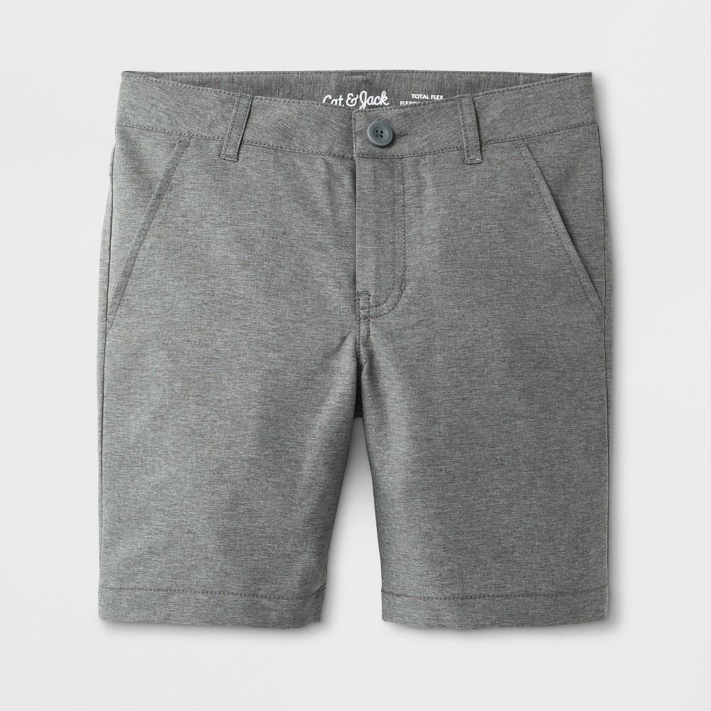 Boys' Quick Dry Chino Shorts - Cat & Jack Gray 16