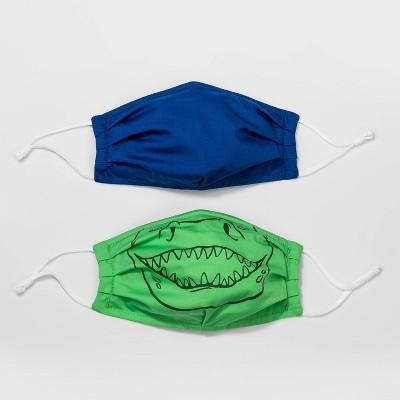 Kids' 2pk Animal Fabric Face Masks - Cat & Jack™