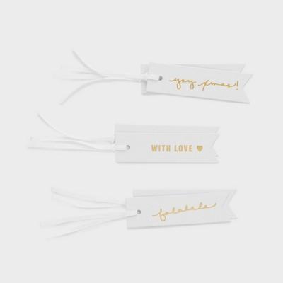 Gold Foil Gift Tag Set 6ct - Sugar Paper™