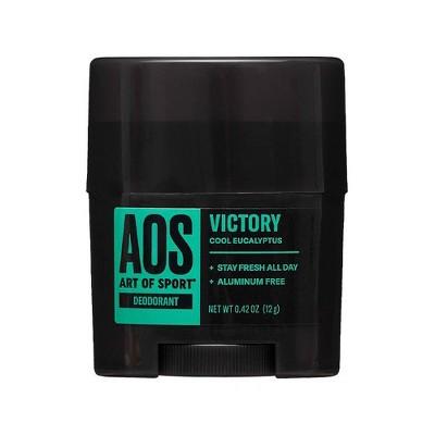 Art of Sport Men's Deodorant Mini Victory - Trial Size - 0.5oz