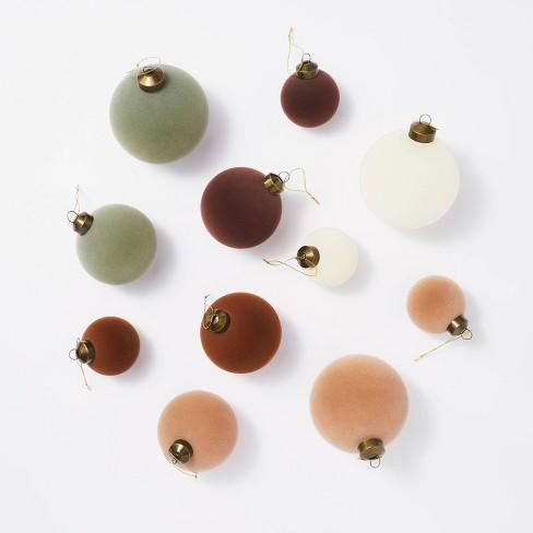 Large Set of Velvet Ornaments - Threshold™ designed with Studio McGee - image 1 of 4