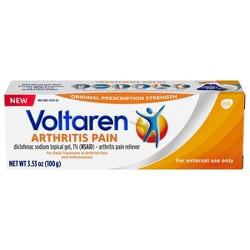 Voltaren Diclofenac Sodium Topical Arthritis Pain Relief Gel Tube - 3.5 oz