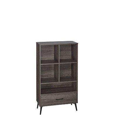 Woodbury Storage Cabinet with Cubbies and Drawer Woodgrain - RiverRidge Home