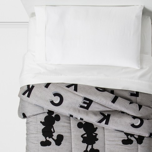 Mickey Mouse & Friends Mickey Mouse Twin Comforter Gray - image 1 of 4