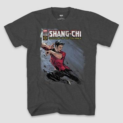 Men's Marvel Shang-Chi Short Sleeve Graphic T-Shirt - Heather Gray