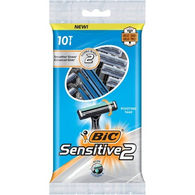 BiC Sensitive 2-Blade Disposable - 10ct