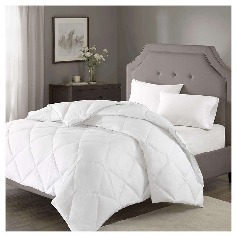 Diamond Quilting 1000 Thread Count Cotton Rich Down Alternative Comforter - image 1 of 3
