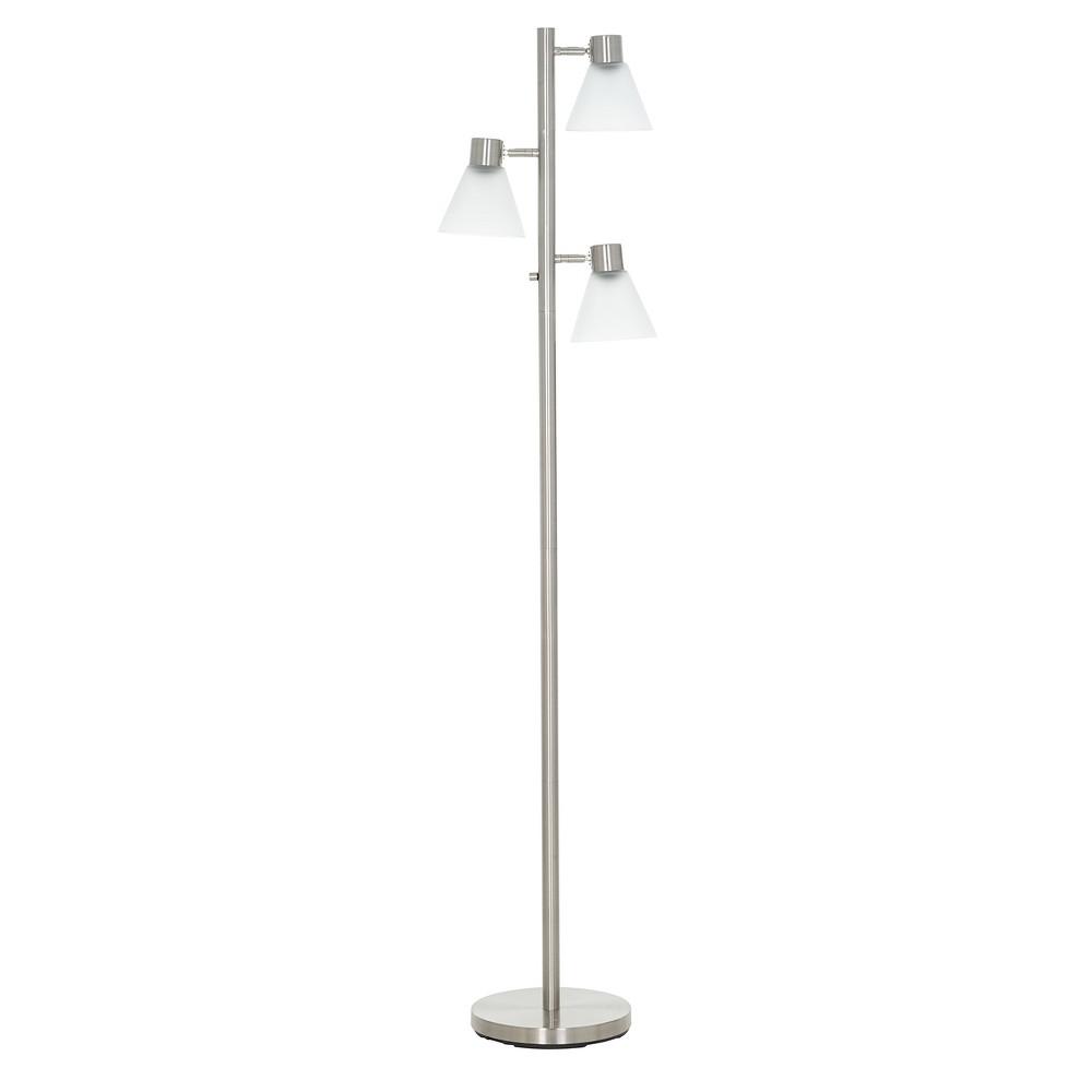 Image of Track Tree Floor Lamp Brushed Nickel (Includes Energy Efficient Light Bulb) - Threshold