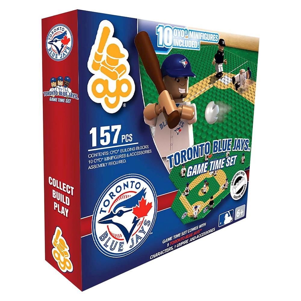 Oyo Sports Game time Set 157 Piece Building Blocks - Toronto Blue Jays