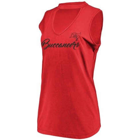 NFL Tampa Bay Buccaneers Women's Constant Effort Sleeveless T-Shirt - image 1 of 2