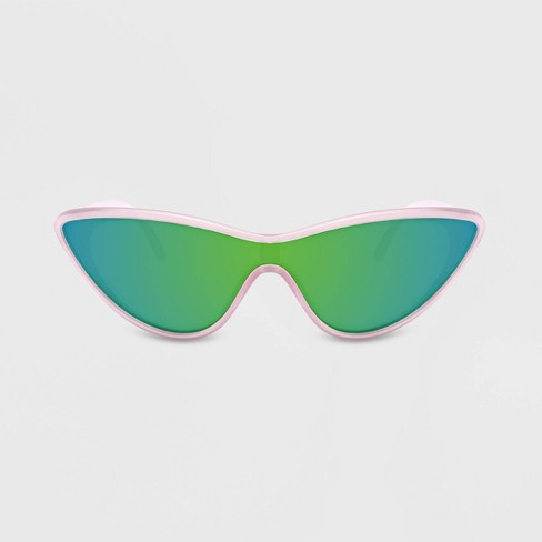 Women's Americana Plastic Cateye Sunglasses - Wild Fable™ Pink - image 1 of 2