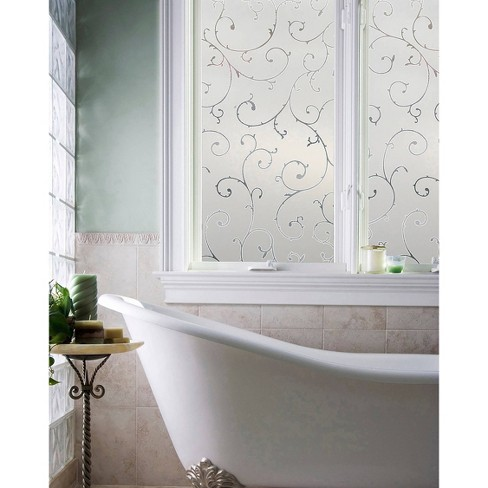 """24"""" x 36"""" Etched Lace Window Film - Artscape - image 1 of 3"""