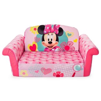 Marshmallow Furniture Childrens 2 in 1 Flip Open Foam Sofa Minnie Mouse by Spin Master