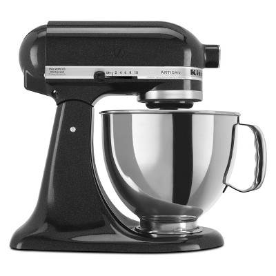 KitchenAid Refurbished Artisan Series Stand Mixer - Black RRK150CV
