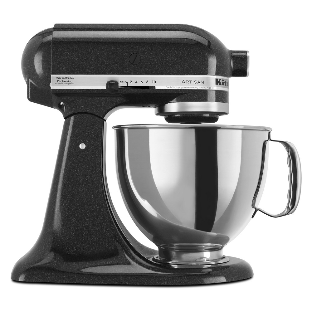 KitchenAid Refurbished Artisan Series Stand Mixer – Black RRK150CV 53499026