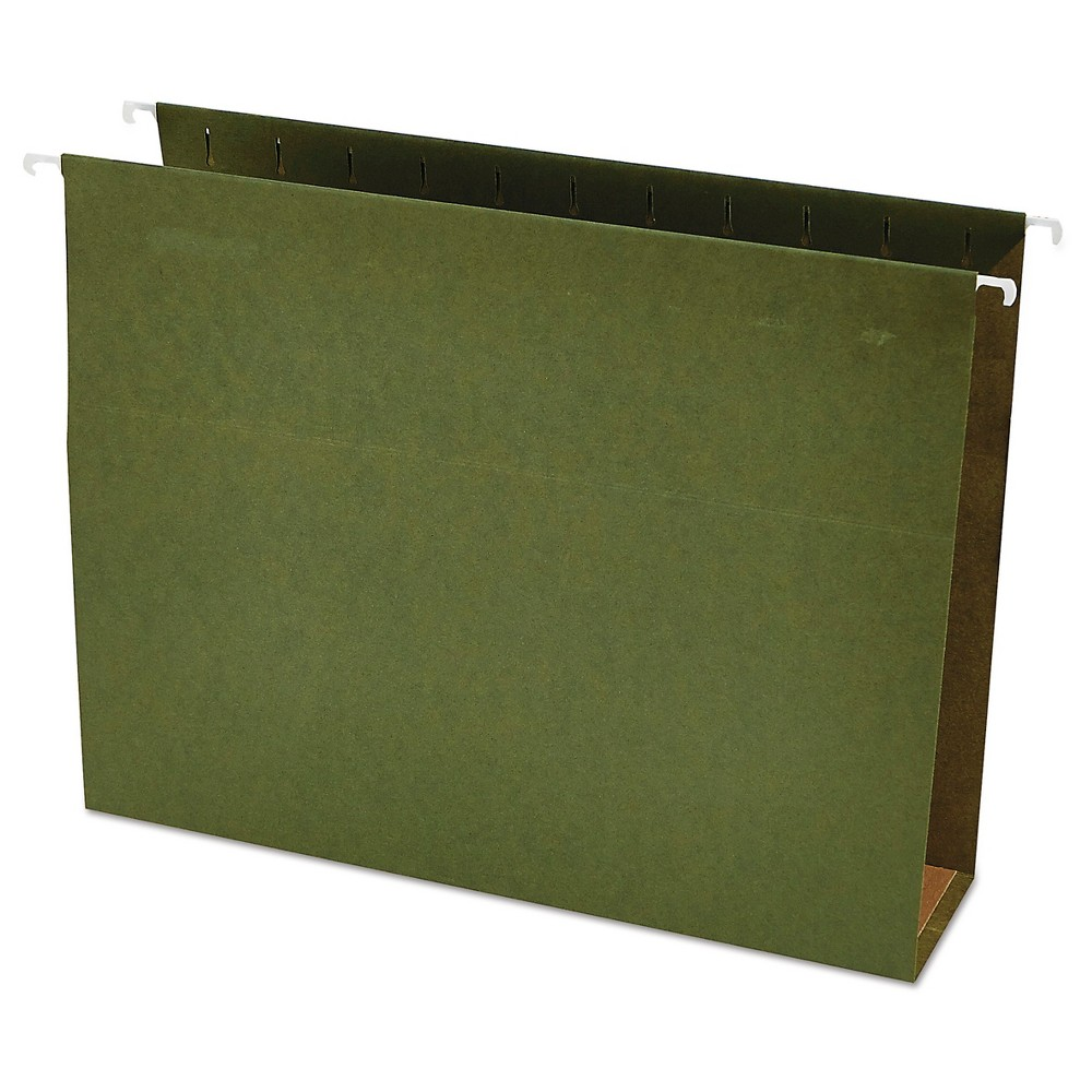 Hanging File Folders Green Universal Office