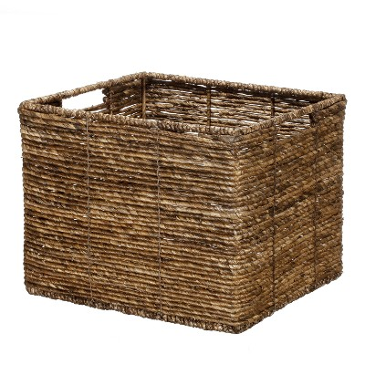 MidTone Large Milk Crate Dark Taupe - Threshold™