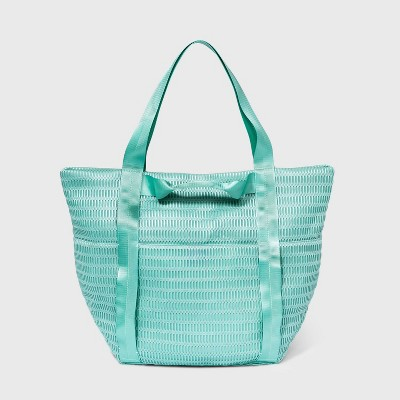 Zip Closure Tote Handbag - Shade & Shore™ Blue