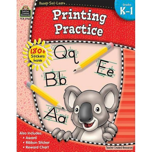 Ready-Set-Learn: Printing Practice Grd K-1 - (Paperback) - image 1 of 1