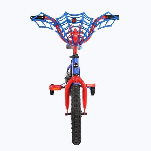 Huffy Spider Man Bike 14 Bluered