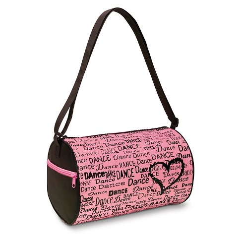 Girls' DansBagz by Danshuz Barrel Bag Pink - image 1 of 1