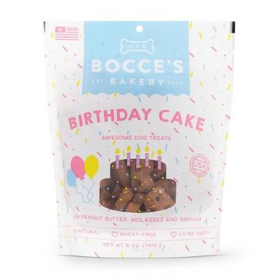 Bocce's Bakery Birthday Cake Dog Treats - 5oz