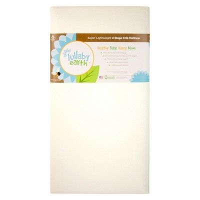 Lullaby Earth Super Lightweight 2-Stage Crib Mattress