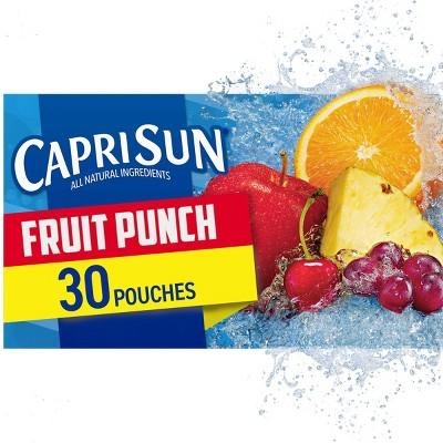 Capri Sun Fruit Punch Value Pack - 30pk/6 fl oz Pouches