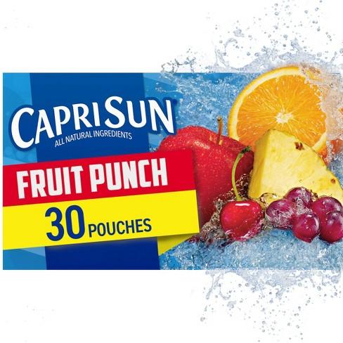 Capri Sun Fruit Punch Value Pack - 30pk/6 fl oz Pouches - image 1 of 4