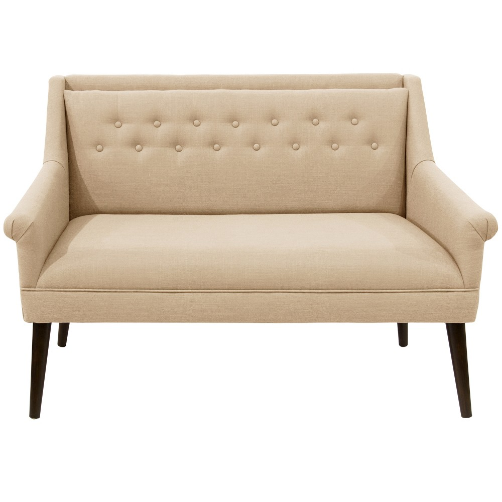 Button Tufted Settee Linen - Skyline Furniture Button Tufted Settee Linen - Skyline Furniture Gender: Unisex.