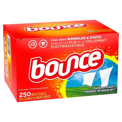Bounce Outdoor Fresh Dryer Sheets - 250ct