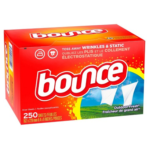 Bounce Outdoor Fresh Dryer Sheets - 250ct - image 1 of 3