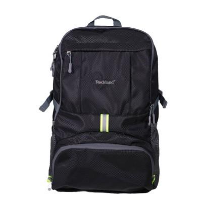 Rockland 19'' Packable Stowaway Backpack - Black