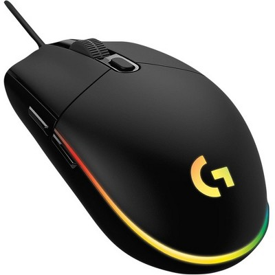 Logitech G203 LIGHTSYNC Wired Gaming Mouse - White