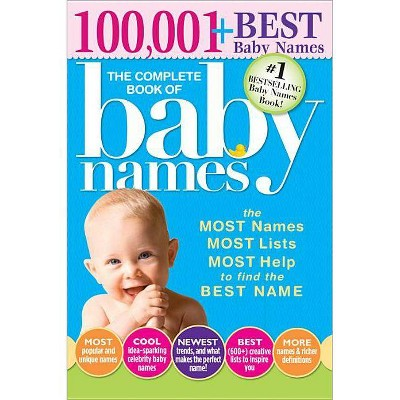 The Complete Book of Baby Names - by  Lesley Bolton (Paperback)
