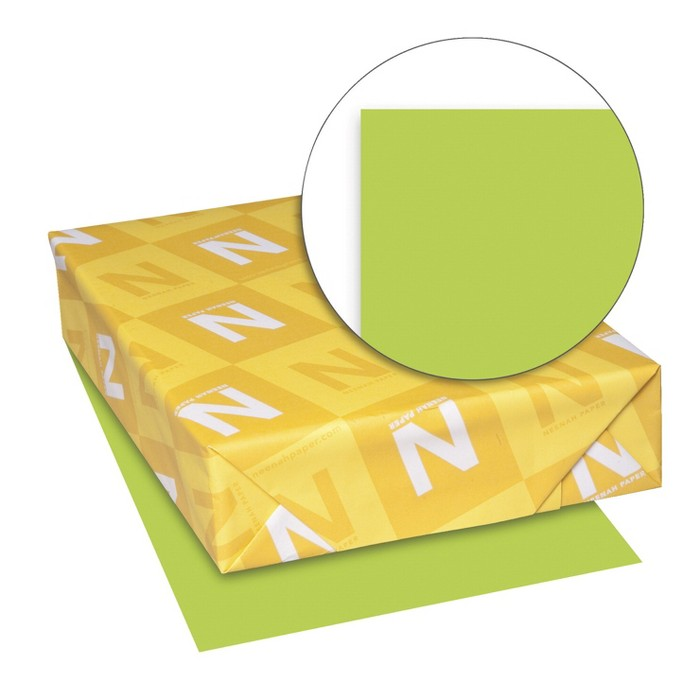 Exact Color Copy Paper, 8-1/2 x 11 Inches, 20 lb, Bright Green, 500 Sheets - image 1 of 1