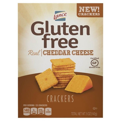 Lance Real Cheddar Cheese Gluten Free Crackers - 5oz - image 1 of 1