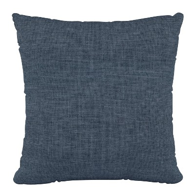 """18""""x18"""" Zuma Polyester Pillow Navy - Skyline Furniture"""