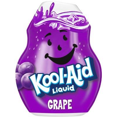 Kool-Aid Grape Liquid Water Enhancer - 1.62 fl oz Bottle