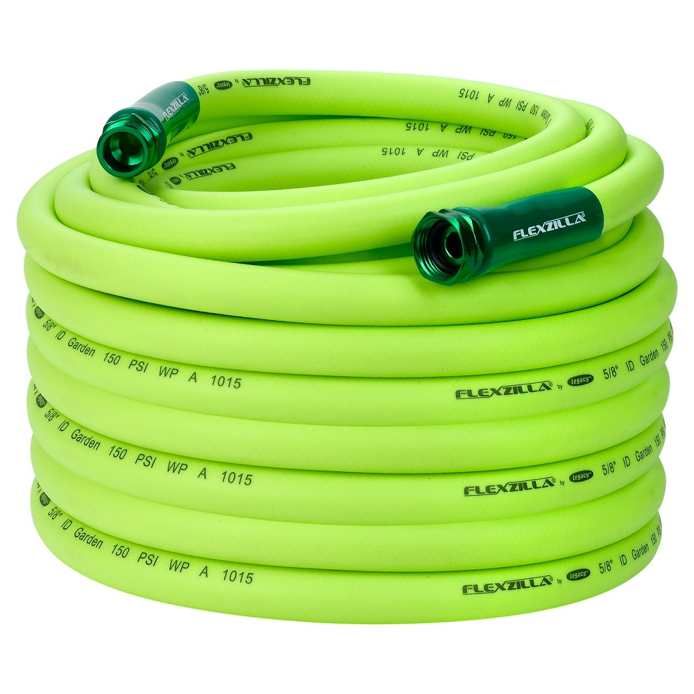 Image of Garden Lead In Hose 5/8 In. x 100 Ft. - Green - Flexzilla
