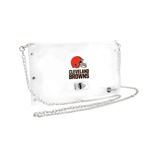 NFL Cleveland Browns Clear Envelope Purse - image 1 of 1