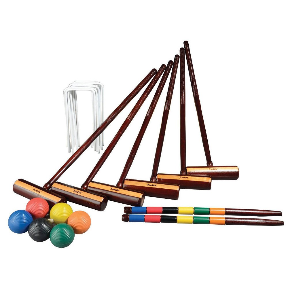 Image of Franklin Sports Expert Croquet Ball Set