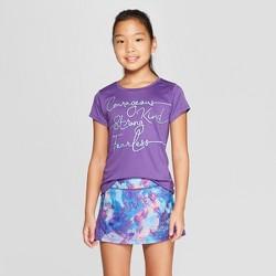 47ea30e1 Girls' Courageous Kind Strong Fearless Graphic Tech T-Shirt - C9 Champion®  Plum