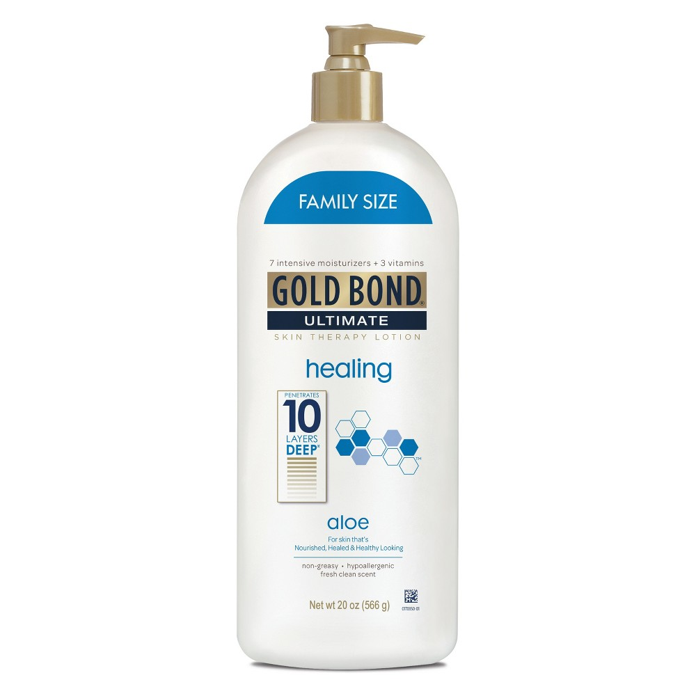 Image of Gold Bond Ultimate Healing Hand And Body Lotions - 20oz