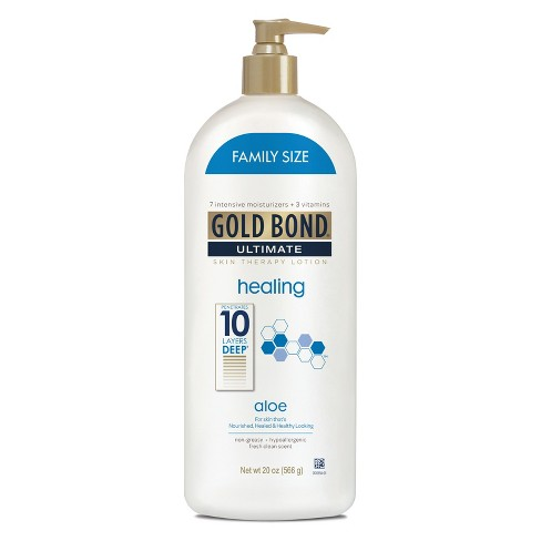 Gold Bond Ultimate Healing Hand And Body Lotions - 20oz - image 1 of 3