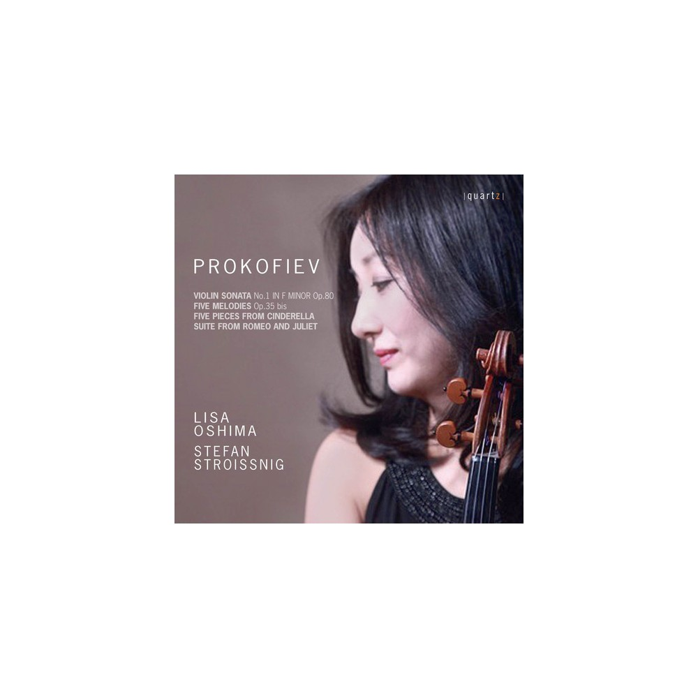 Lisa Oshima - Prokofiev:Violin Son No 1/5 Melodies (CD)