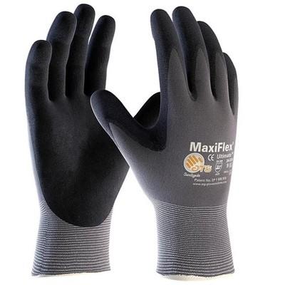 MaxiFlex Ultimate Nitrile Gloves Gray/Black 34-874/M