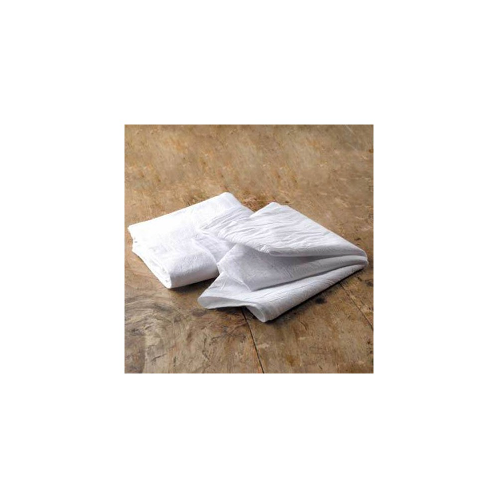 "Image of ""Craft Basics 20"""" x 20"""" 10pk Premium Flour Sack Towel, White"""
